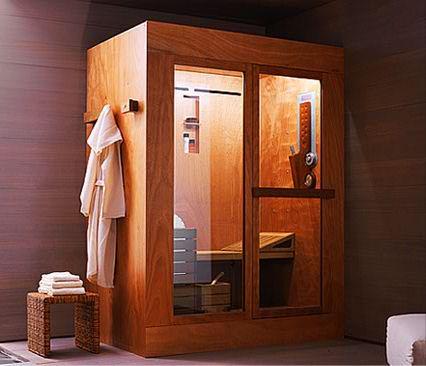 Tuš, Sauna I Parna Soba U Jednoj Kabini