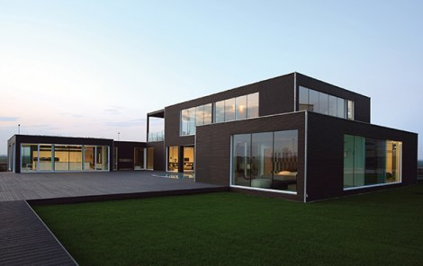Interijer Moderne Montazne Kuce on eco friendly prefabricated house