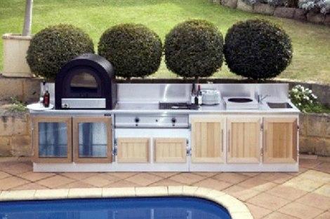 Moderne Ljetnje Kuhinje