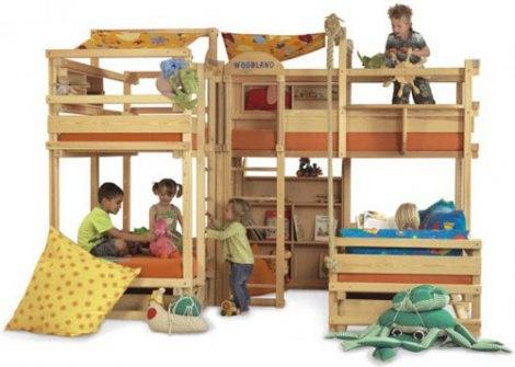 Dječji Krevet Za Igru