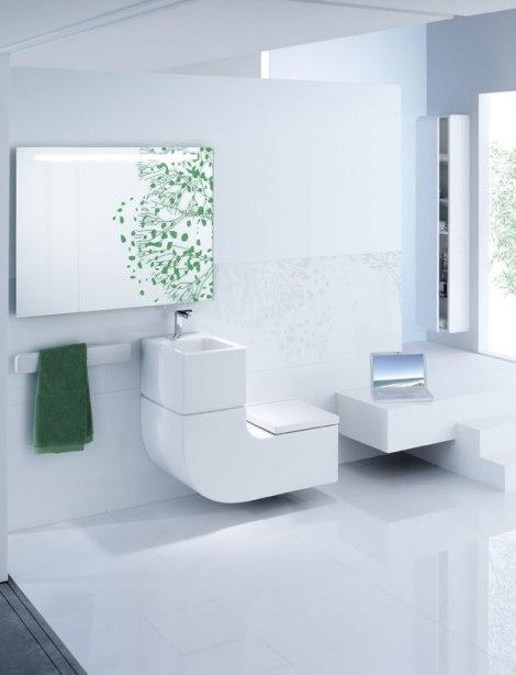 Eco-Friendly Wc školjka I Umivaonik