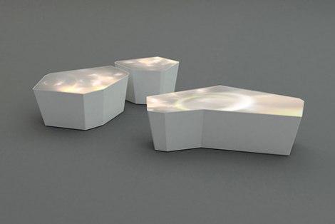 LED Stol Swarovski