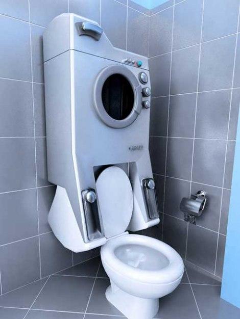 Perilica Rublja I WC školjka