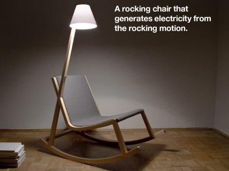 Učinkovita Stolica Za Ljuljanje
