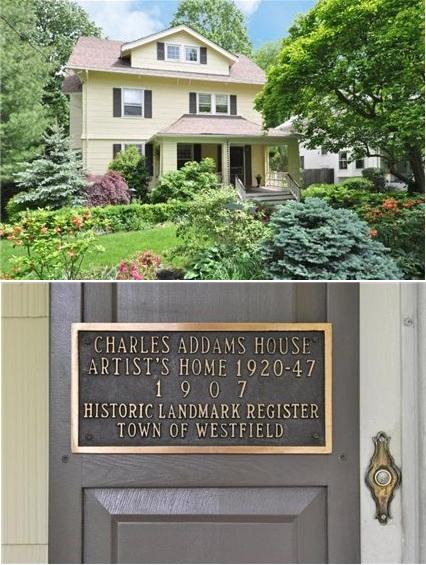 Kuća U Kojoj Je Nastala Obitelj Adams