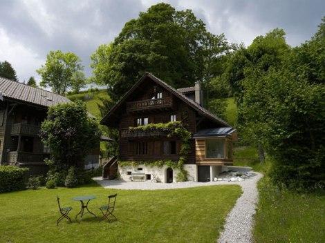 Stoljetna švicarska Kuća