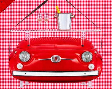 Slatki Fiat 500