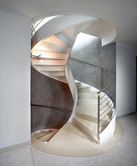 Prekrasna Spiralna Stubišta By Rizzi