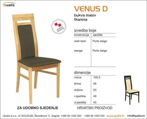Kuhinjska Stolica Venus