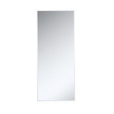 Jednostavno Fasetno Ogledalo Sa Srebrnim Rubom